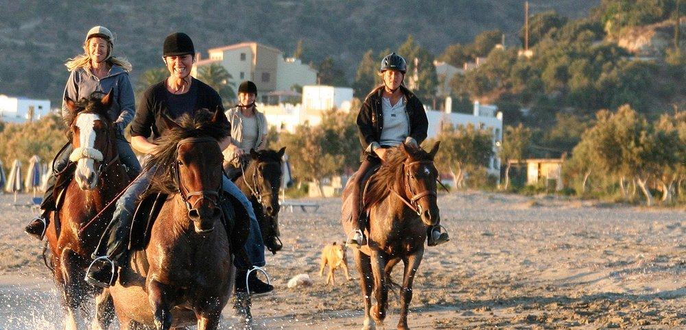 HORSE RIDING - Alianthos Crete Horse Riding ╋