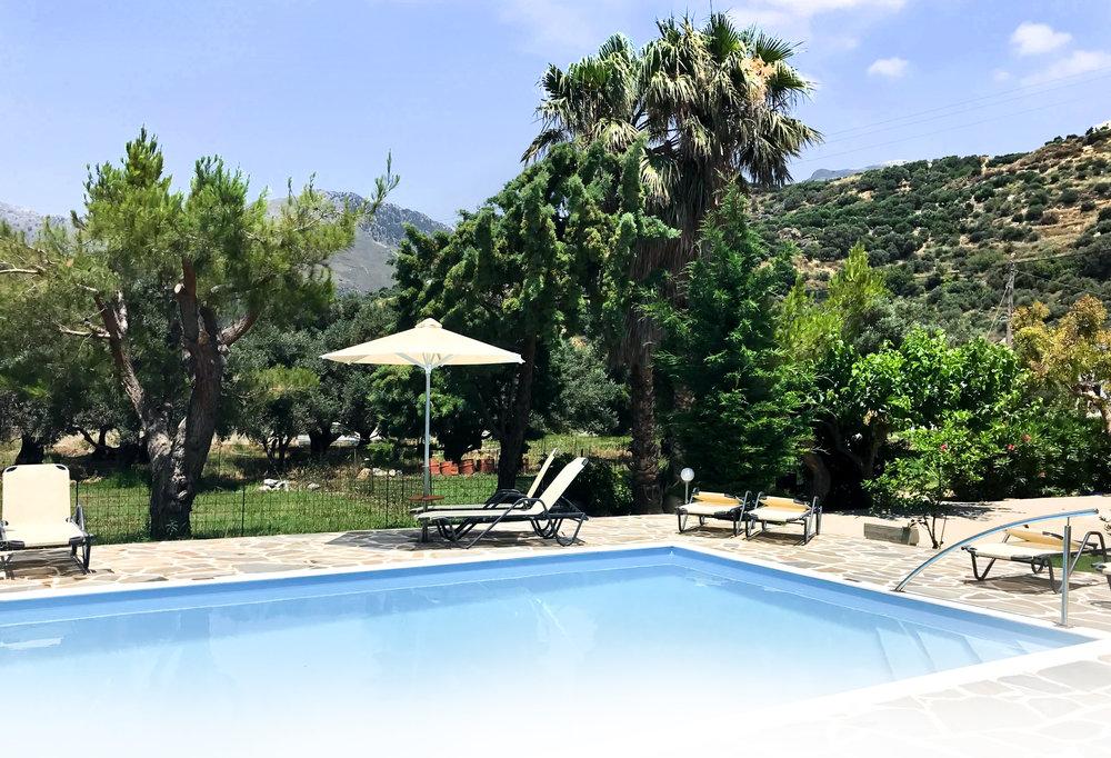 Irida Plakias Hotel with pool