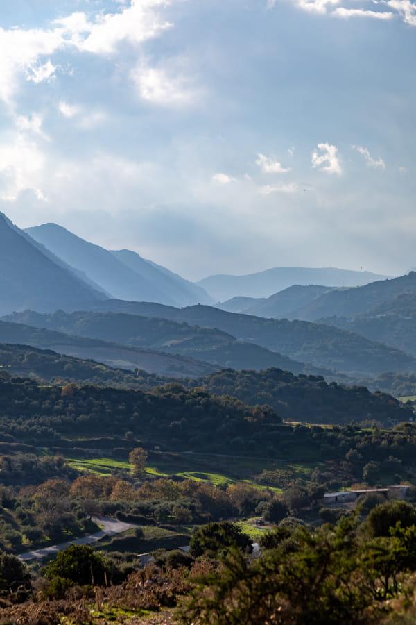 landcape crete