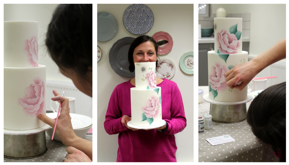 one to one hand painted cake classes