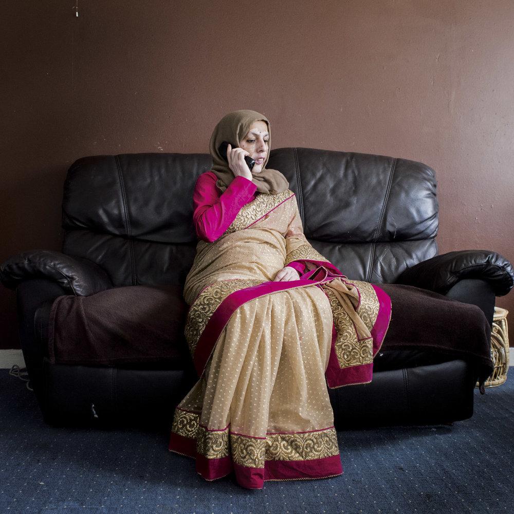 Mrs. Uddin, flat 287