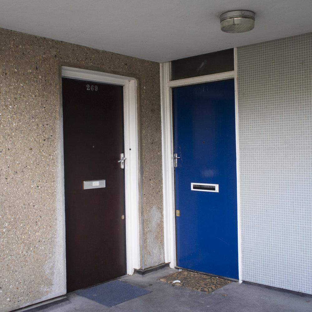 George's front door