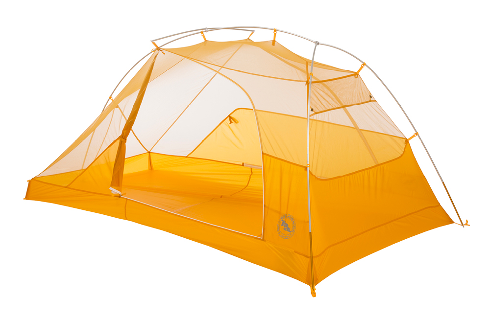 Big Agnes Tiger Wall is one of the lightest double-wall shelters on the market.