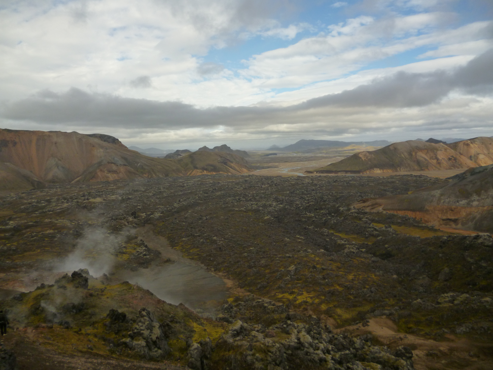 The volcanic landscape of Iceland appears quite surreal the first time you encounter it.