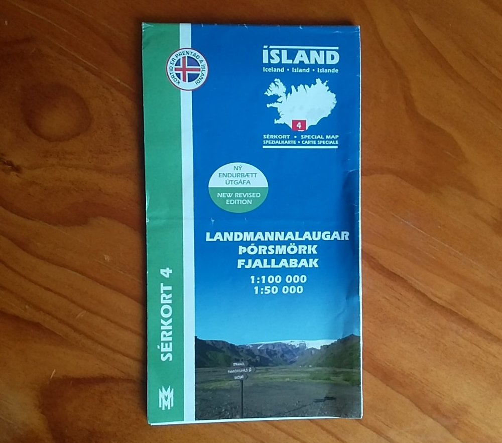 Maps for the Laugavegur Trail can be found at bookshops and petrol stations in Reykjavik. Although the trail is well marked and pretty well trodden, we always suggest carrying a decent trail map...