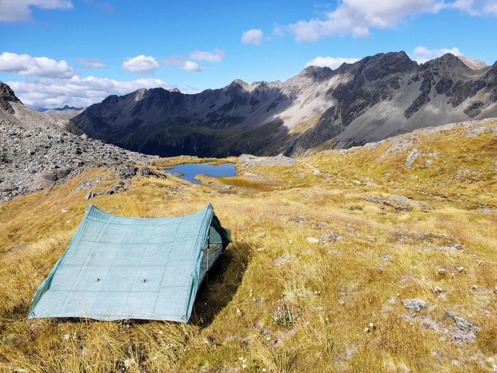 If weather allows, then camping on Travers Saddle is a real treat. Just be sure to leave no trace.