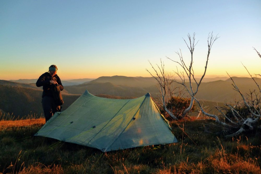 How epic is their Triplex tent! It's massive, seriously ultralight (24 OUNCES), and still durable.
