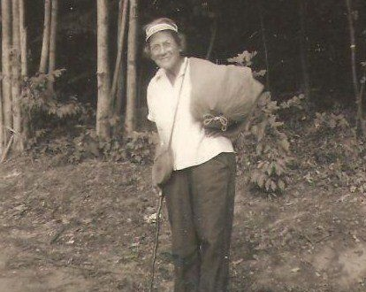 Grandma Gatewood (1887-1973) was a legendary thru-hiker, famous for hiking the 2,168 mile Appalachian Trail with nothing but a small sack over her shoulder — suffice to say she was a pioneer of ultralight backpacking!