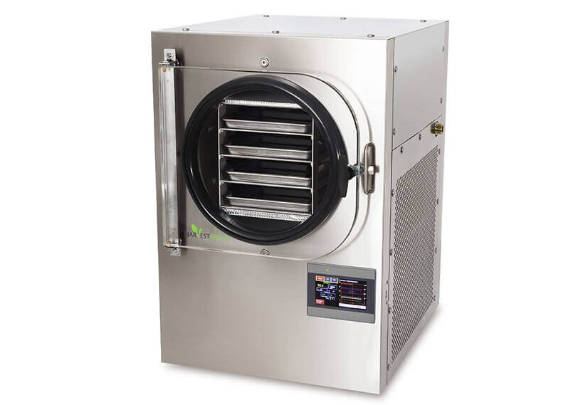 The Harvest Right Home Freeze Dryer — it's big, heavy, loud, complex, and f**king expensive.