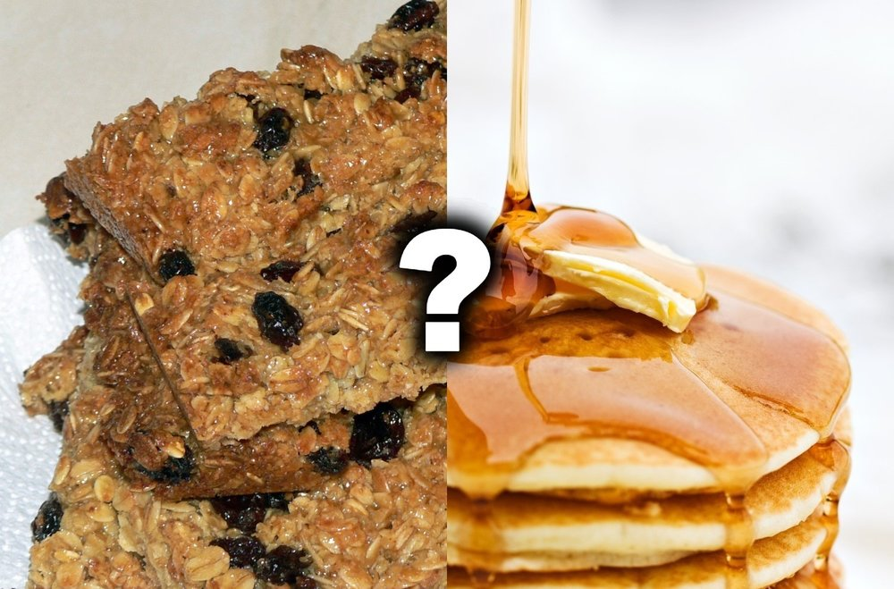 Which are the flapjacks? … Well,that depends on which country you are in.