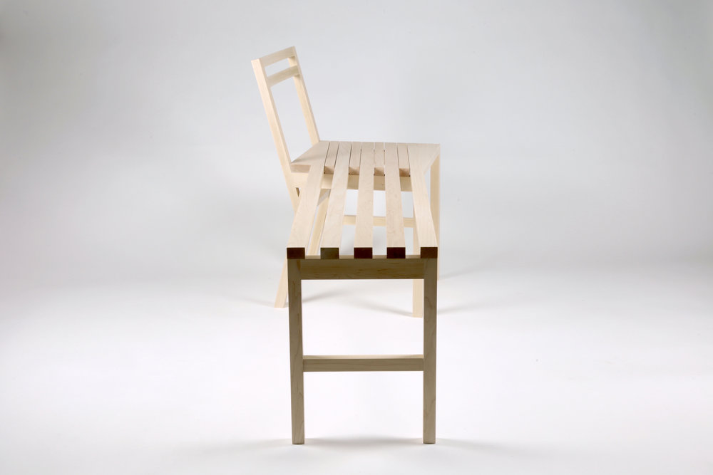 chair bench profile