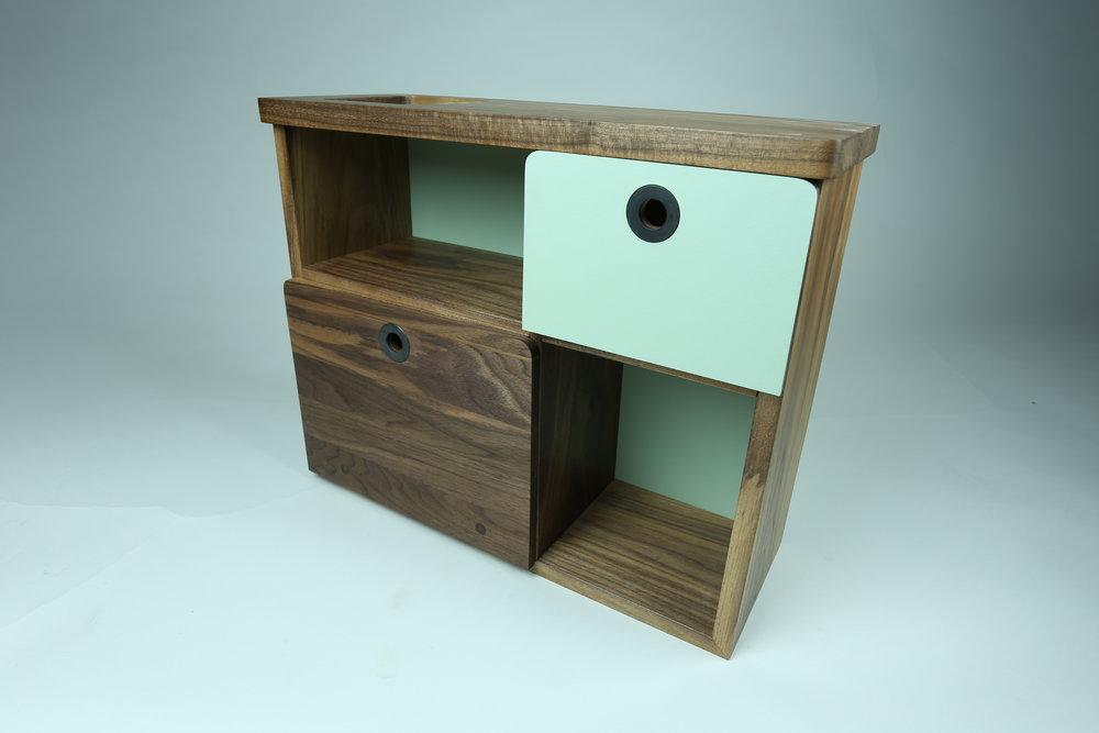 cabinet angle