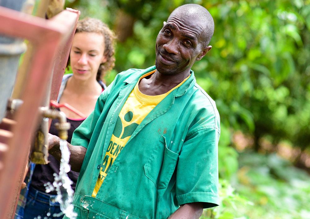 "Uwindepandance ""Rasta"" Reodomir    Farm Technician   /Abakozi wo mumurima"