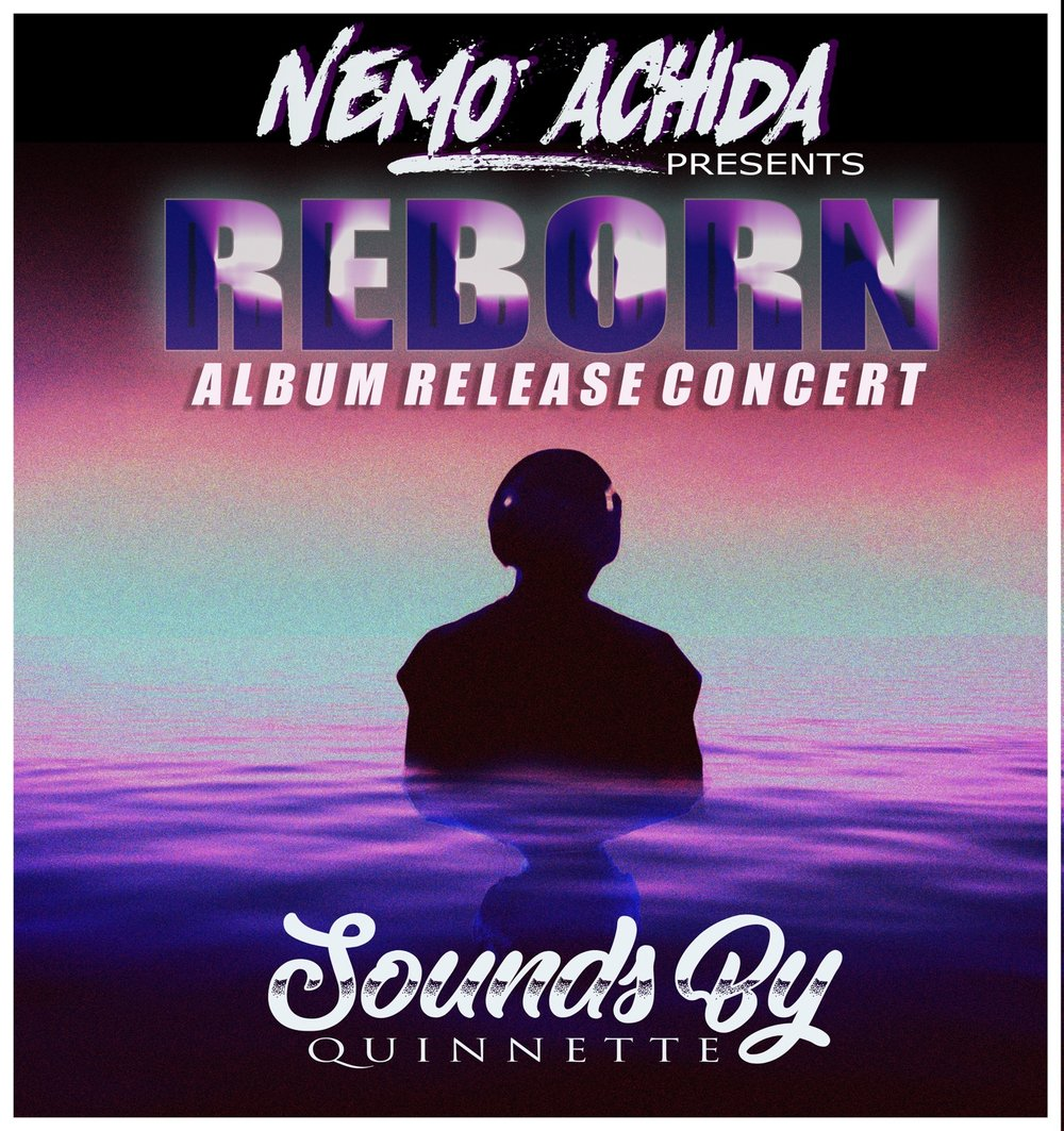 Nemo Achida's latest album  'Reborn' debuted & was performed live on 1/21/2018. His band is currently playing shows promoting this effort.