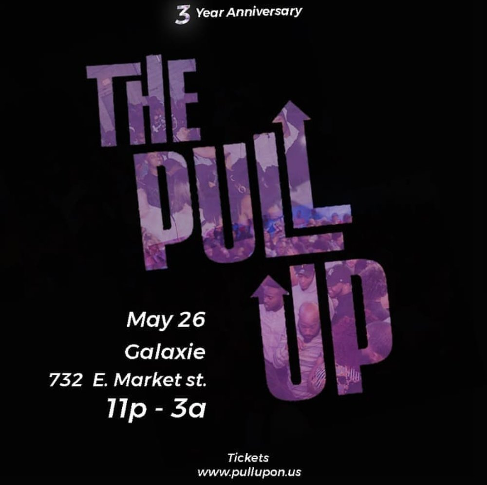 "The Pull Up is one of Louisville Ky's most popular events. Quinnette is a resident DJ of the collective ""For The People"" consisting of Dj Always, Dj Outhere, and Dj / Engineer & Producer Kymbo Slyce."