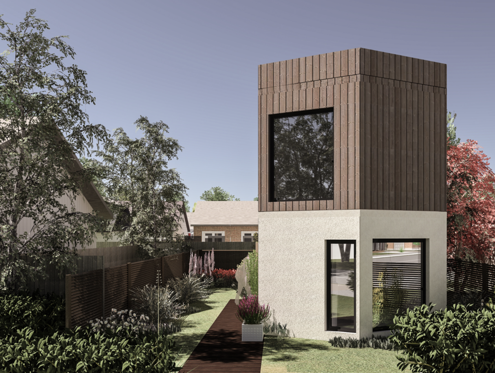 2 BED - XX90 - 2  Harmonious proportions and spacious rooms, this property can be built to stand alone or as a semi detached, owing to HexxHome's customisation benefits.