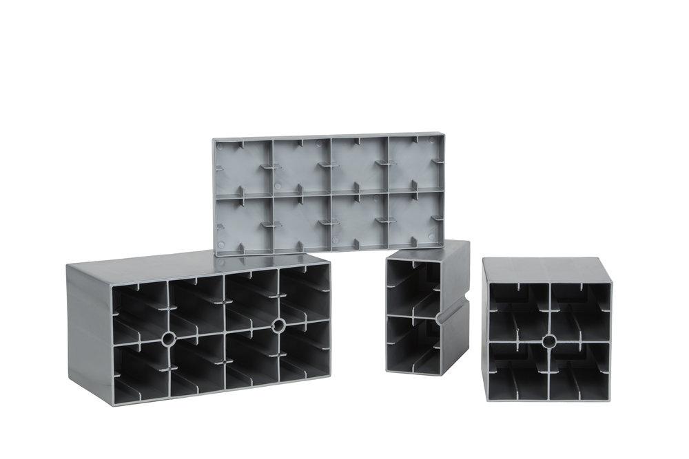 Undersidans är konstruerad för ökad styrka och hållbarhet.