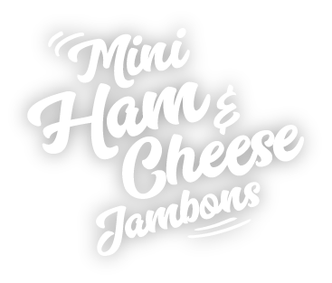 Golden Bake mini Ham & Cheese Jambons