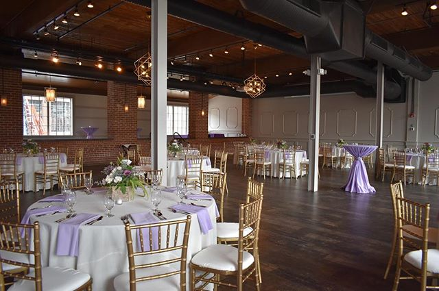 We are so excited to have not one, but TWO wedding receptions in our newly renovated space this weekend!
