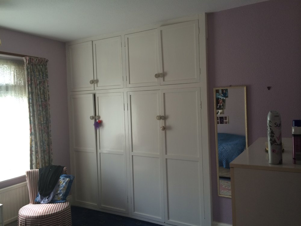 Original wardrobe cupboards