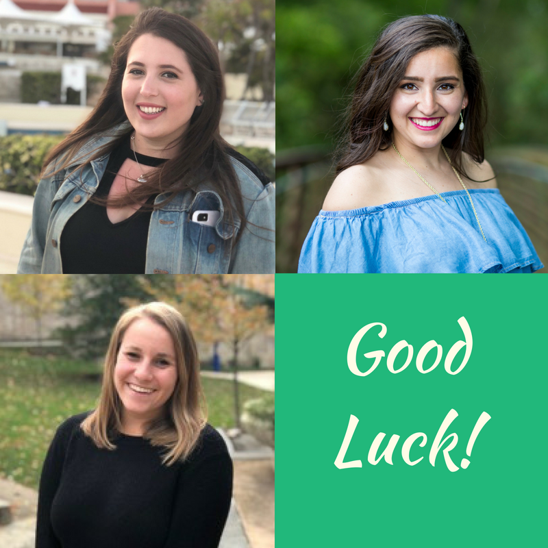 2018-2019 TECs - AEPhi announces three Traveling Educational Consultants hitting the road this fall. Stephanie Blitzer, Abigail Ross, and Delaney Becker will be visiting chapters from Atlantic to Pacific to help strengthen and grow our sorority. Good luck on the road!