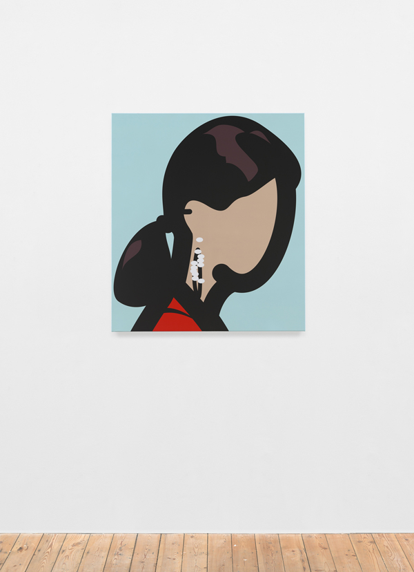 Julian Opie. Womanwithhoopearrings_600.jpg