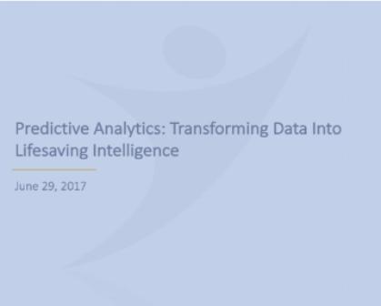 Predictive Analytics: Transforming Data Into Lifesaving Intelligence -