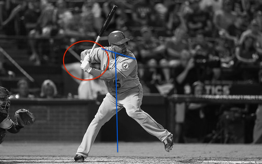 Albert Pujols,  Gather Phase (Hand Position)