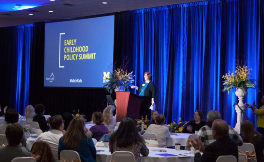 UM-Flint hosts inaugural Michigan Early Childhood Policy Summit - April 9, 2018