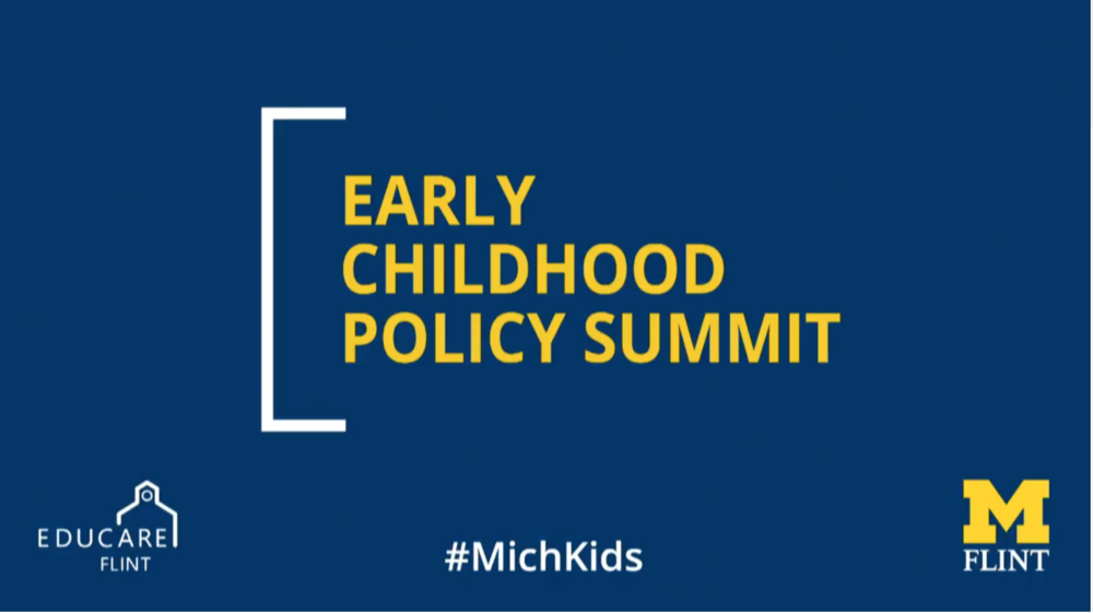 Early Childhood Policy Summit Speakers - April 9, 2018