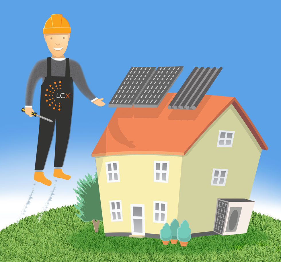 Installation Services - Solar Panels, Heat Pumps, MVHR Systems, Quantum Heating