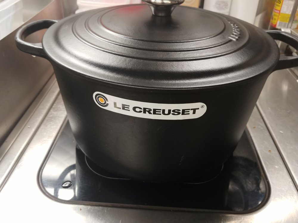 Use - Le Creuset cast iron pans are absolutely wonderful. I highly recommend them.