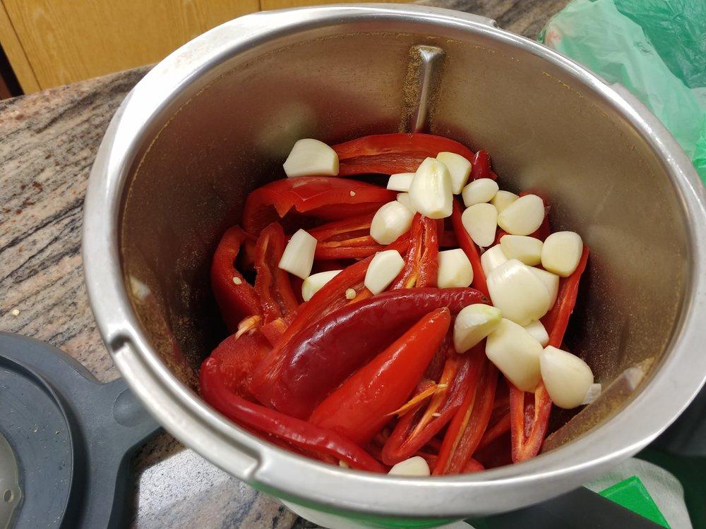 Add - Peeled Garlic.