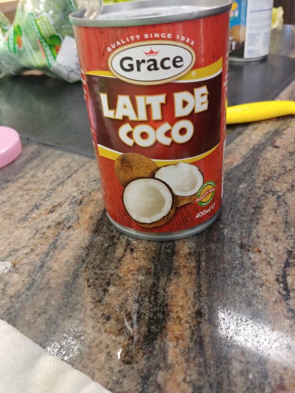 Add - The coconut milk.