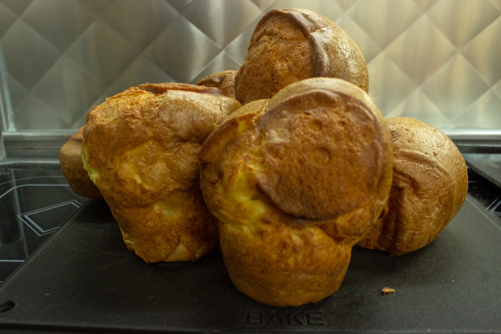 Yorkshire Pudding - 1 Cup Eggs, 1 Cup Flour, 1 Cup Milk
