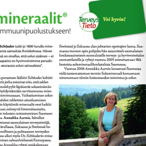 TerveysTieto 05/2014  Solumineraalit® syksyyn ja immuunipuolustukseen