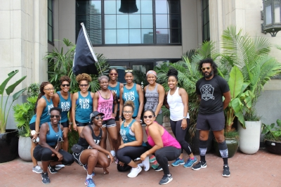RUNGRL and runners at The Ace Hotel New Orleans.
