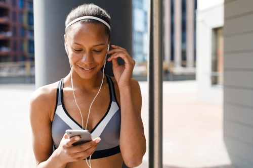 Fitness apps and devices can be a fun way to get motivated, but it's important to be aware of both your surroundings in real time and of who can see your activity online.