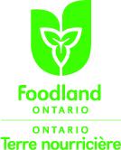 Foodland Ontario bilingual logo English on top