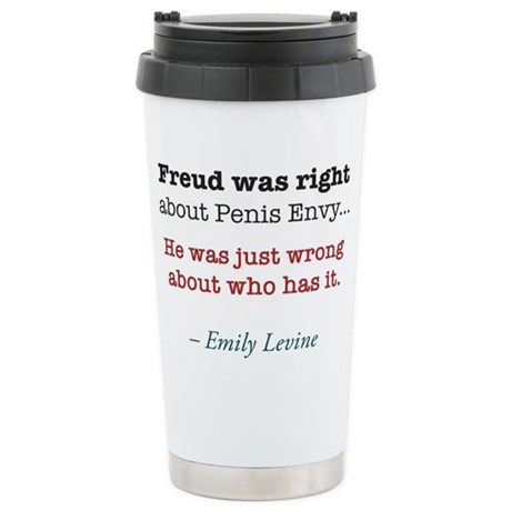 Freud Travel Mug