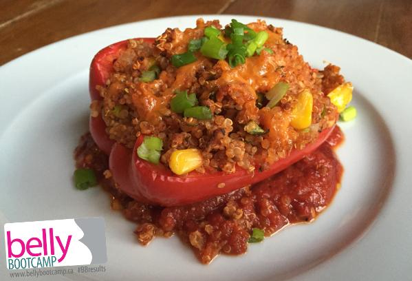 southwest-turkey-quinoa-stuffed-pepper