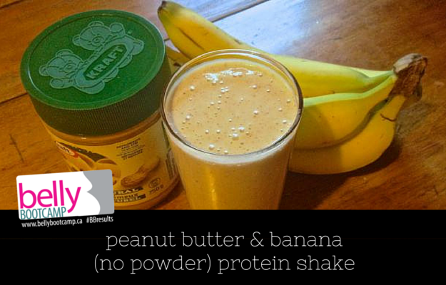 peanut-butter-banana-no-powder-protein-shake