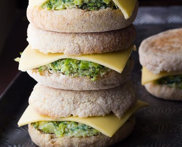 freezer breakfast sandwiches - Healthy breakfast sammies from sweatpeasandsaffron.com