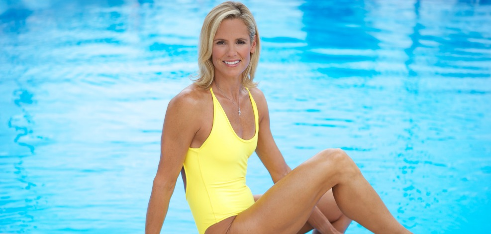 Olympic swimmer Dara Torres is in her 40s. 40s, people.