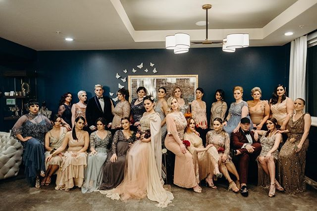 Okay, ladies now let's get in formation  #gayweddings #dallasweddingvenue #theknot #loveislove #events #dallas #weddinggoals #weddingwire #fashion #dmagazine #dallaswedding #dallasweddingphotographer #chijmesdallas #bridesmaids #grooms #groomsmaids