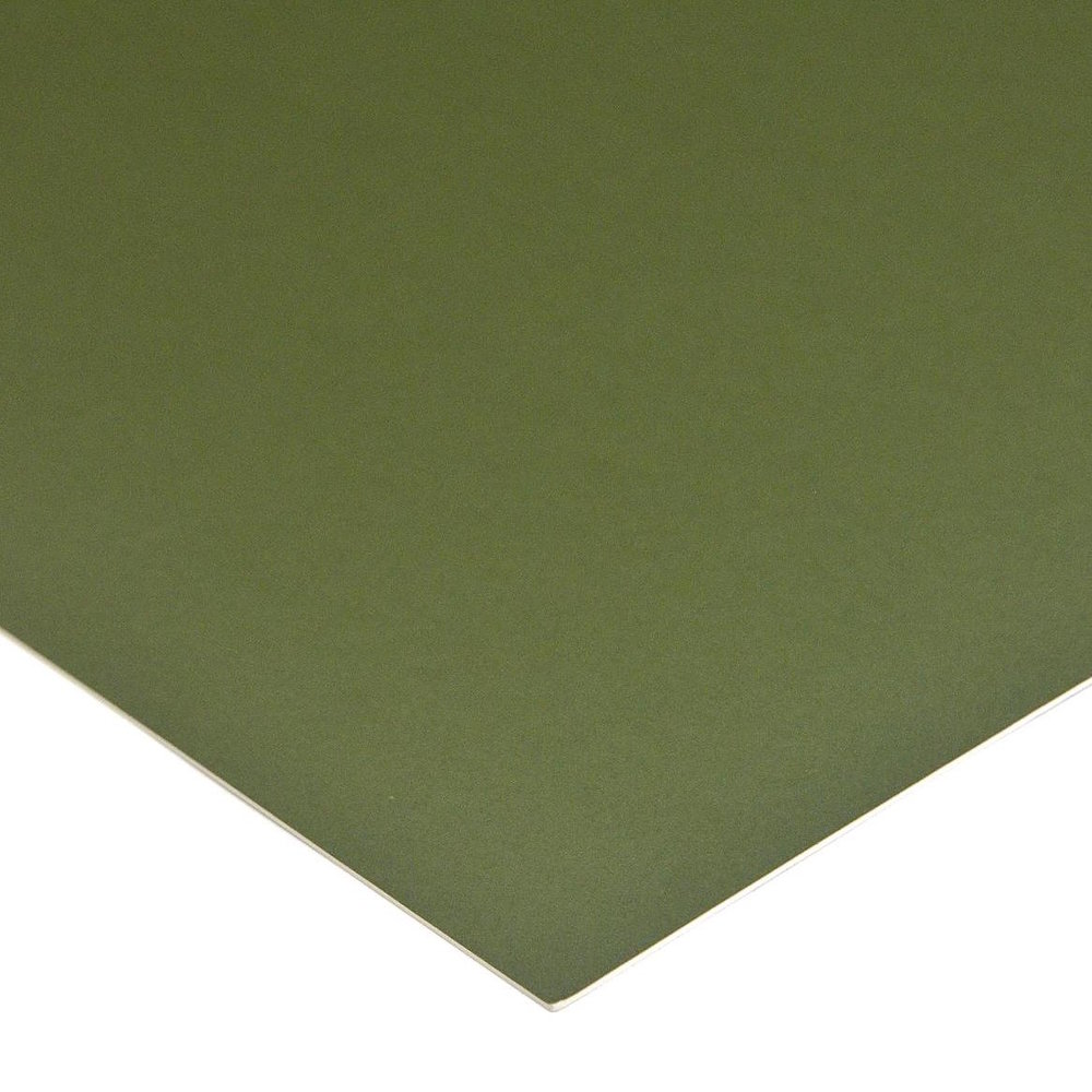 Green Mat board sample for laser cutting or laser etch or engraved pieces