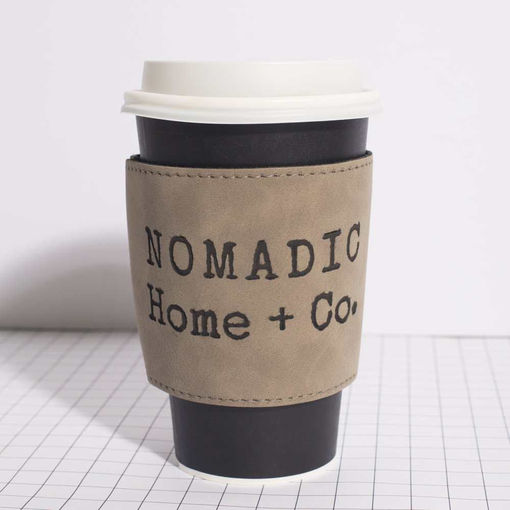 ENGRAVED COFFEE COOZIE