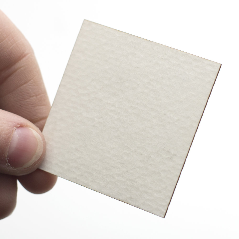 Laser Cut White Paper with Texture cut by Laser Cut Co
