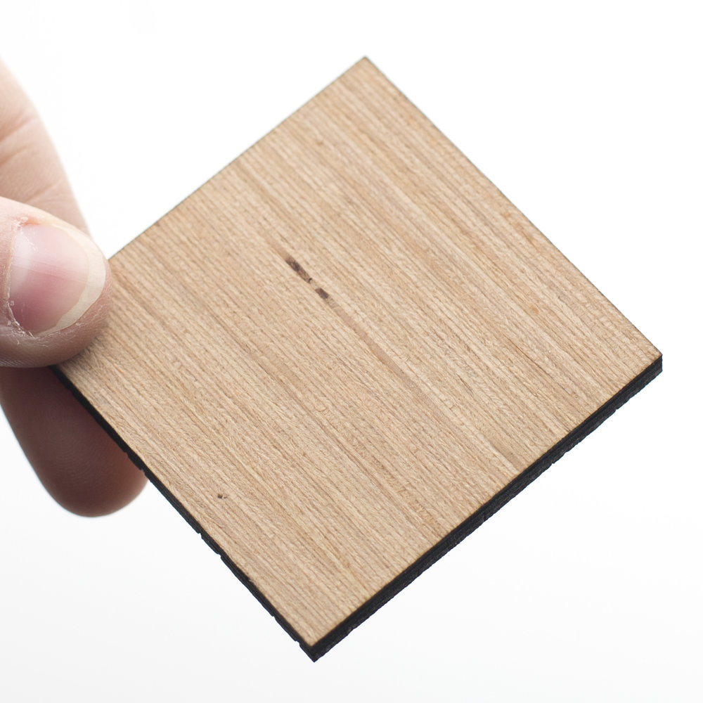 Sample of Bamboo Plywood for laser cutting or laser cut pieces