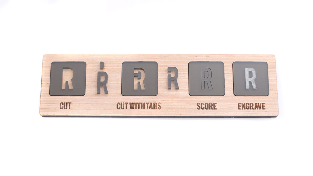 How to add cut, score and engrave marks for laser cutting at Laser Cut Co in Houston, Texas.